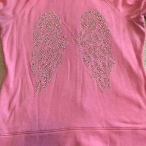 Victoria's Secret Wings hoodie bejeweled